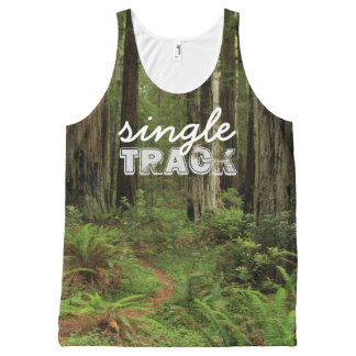 singleTRACK #trailrunner All-Over Print Singlet