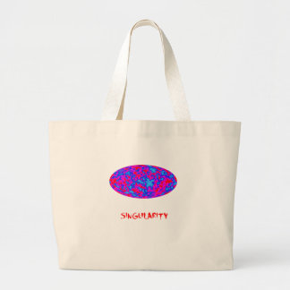singularity with microwave universe tote bag
