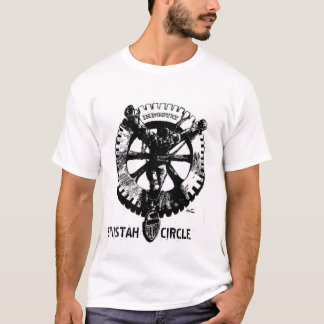 SINISTAH CIRCLE-Industrial Crucifixion T-Shirt