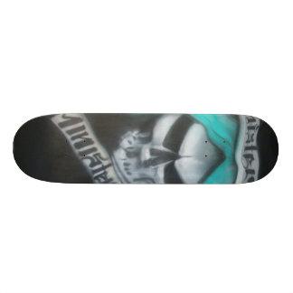 sinister minister skateboard deck