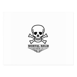 sinister mortal relm postcard