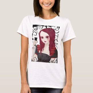 Sinister Scarlet Babydoll Fitted Shirt