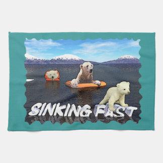 Sinking Fast Tea Towel