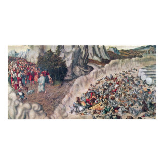 Sinking Of The Pharaoh In The Red Sea By Cranach D Photo Card