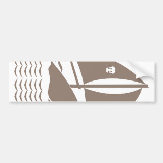Sinking Ship Pirate Bumper Stickers