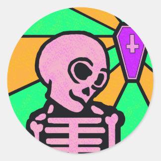 Sinner Classic Round Sticker