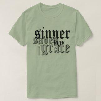 sinner saved by grace t var 05 T-Shirt