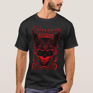 Sinner Skull (Red) T-Shirt