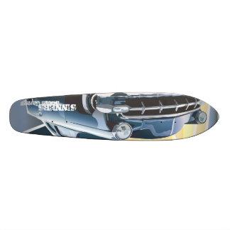 Sinner's Custom Chevy 21.3 Cm Mini Skateboard Deck