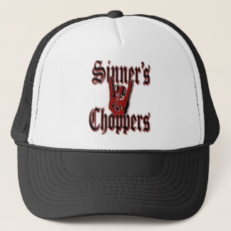 sinnerschopper_hat trucker hat