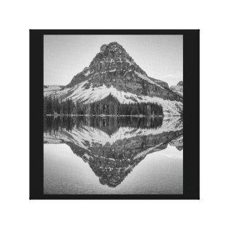 Sinopah Mountain Reflection, Glacier National Park Canvas Print