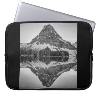 Sinopah Mountain Reflection, Glacier National Park Laptop Sleeve