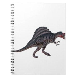 Sinosaurus Side View Spiral Notebook