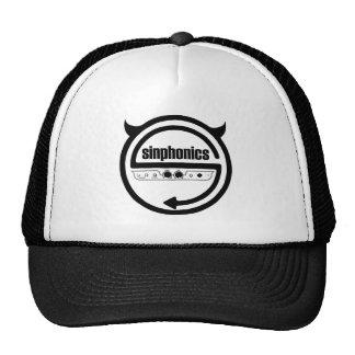Sinphonics logo on cap trucker hat