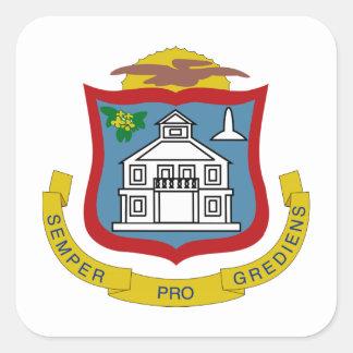 Sint Maarten Coat of Arms Sticker