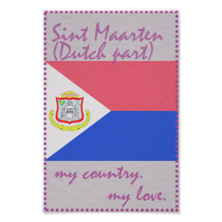 Sint Maarten My Country My Love Poster