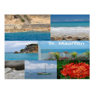 Sint Maarten - St. Martin Postcard