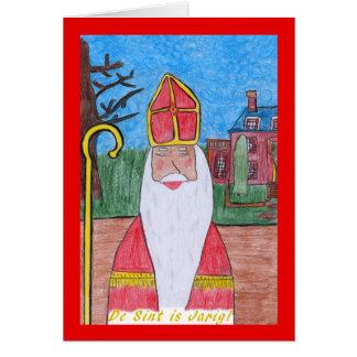 Sinterklaas #1 card