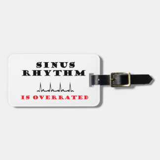 Sinus is Overrated Luggage Tag