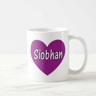 Siobhan Basic White Mug