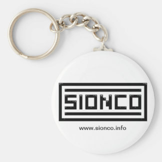 sionco logo keychain