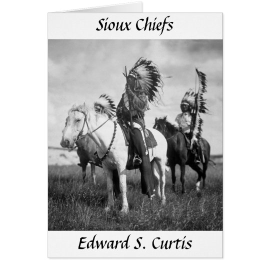 Sioux Chiefs, 1905 Card