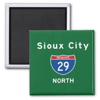 Sioux City 29 Magnet
