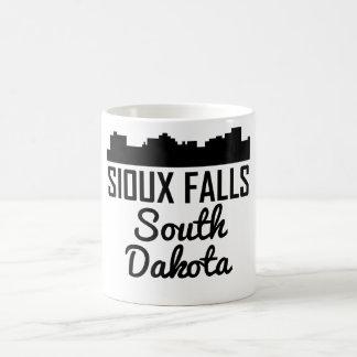 Sioux Falls South Dakota Skyline Coffee Mug