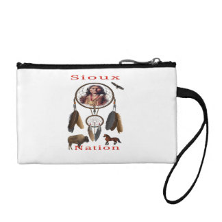 Sioux Nation mercnandise Coin Wallets
