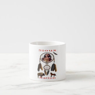 Sioux Nation mercnandise Espresso Cup