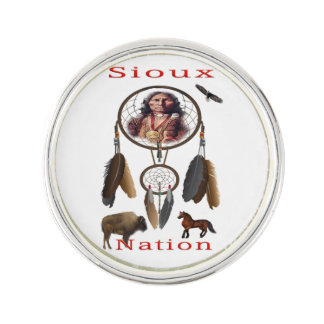 Sioux Nation mercnandise Lapel Pin