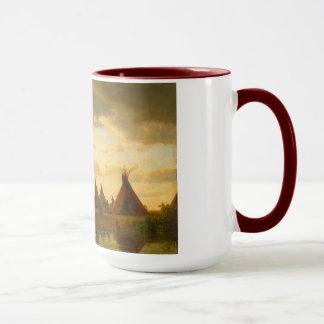 Sioux Village Combo Mug