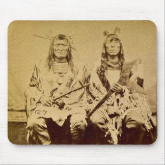 Sioux War Council Vintage Stereoview Mousepads
