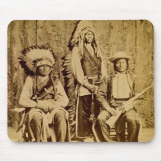 Sioux War Council Vintage Stereoview Mouse Pads