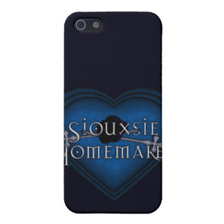 Siouxsie Homemaker Blue Knitting iPhone 5/5S Cases