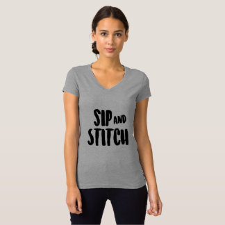 Sip and Stitch T-Shirt