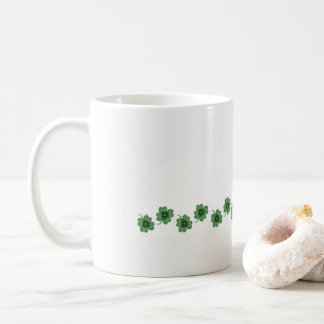 Sip in the Luck  - Four Leaf Clovers - Lucky Mug