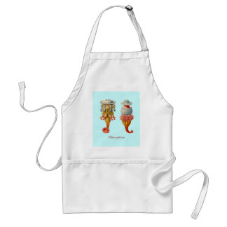 """Siphonophorae  - Jellyfish chef""""s apron"""