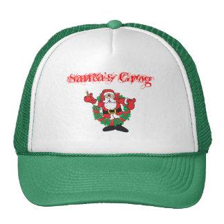 Sipping Santa Cap