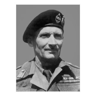Sir Bernard Law Montgomery Posters
