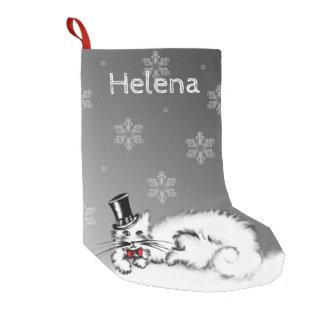 Sir Cat Small Christmas Stocking