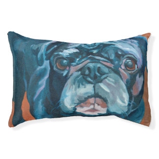 Sir Duke the Pug Dog Bed