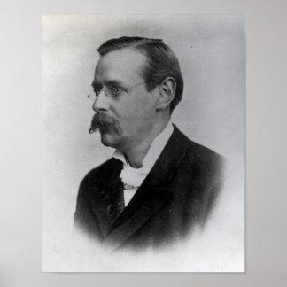 Sir Edmund William Gosse, 1892 Posters