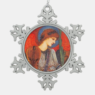 Sir Edward Burne-Jones Pre-Raphaelite Angel Ornaments