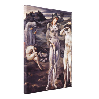 Sir Edward Burne-Jones - The Calling of Perseus Canvas Prints