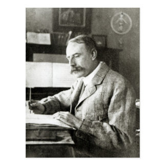 Sir Edward Elgar Postcard
