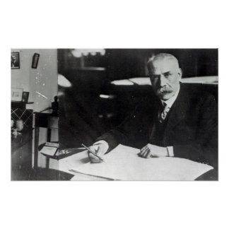 Sir Edward Elgar work on one  orchestral scores Posters