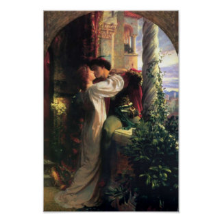 Sir Frank Dicksee, Romeo and Juliet Poster