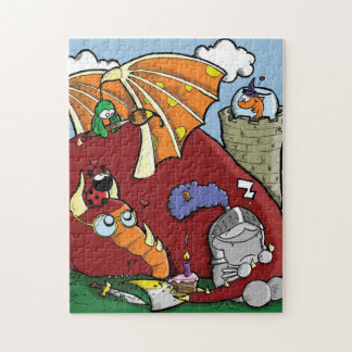 Sir Fred and the Wisest Dragon on Earth Puzzles