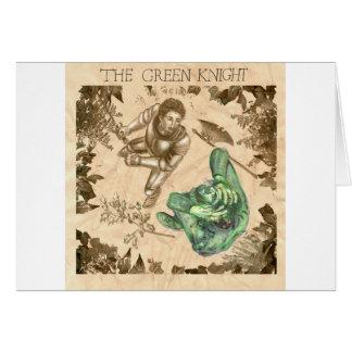 Sir Gawain and the Green Knight Card